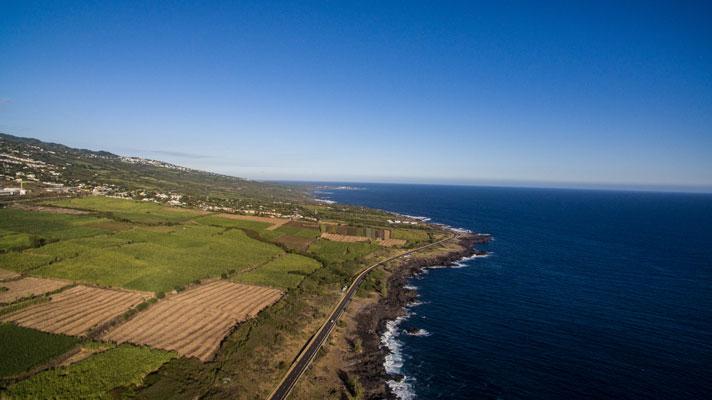 Sud de l'île de La Réunion