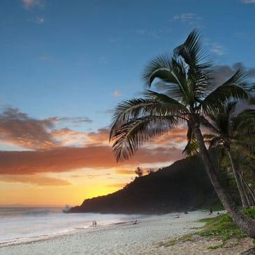 Plage de Grande Anse à l'île de La Réunion