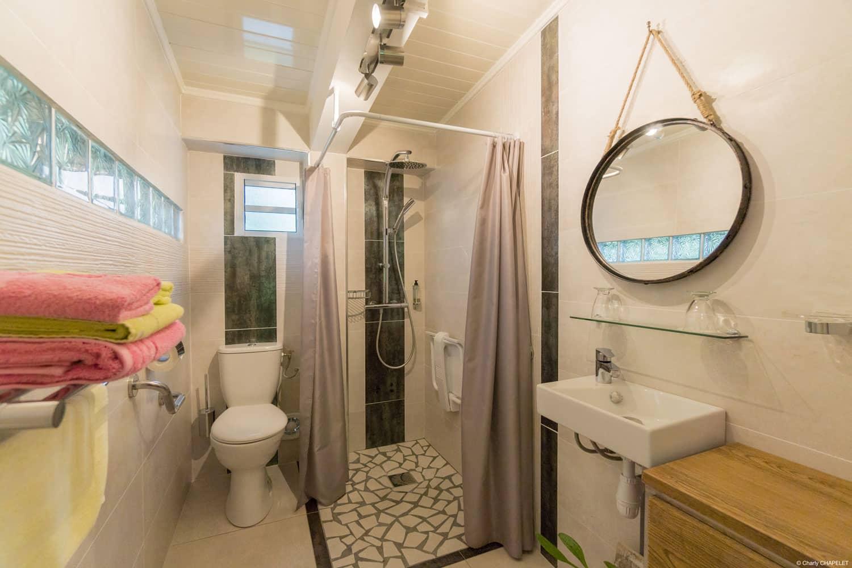Salle de bain Gîte Petite-Île