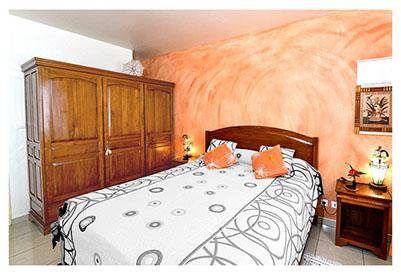Chambre en option du gîte à Petite-ile de La Réunion
