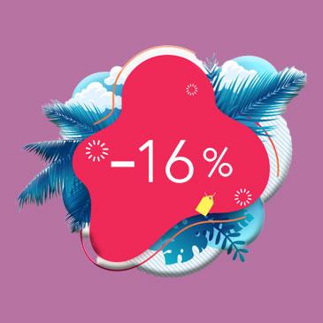 Réservez en direct et économisez 16%