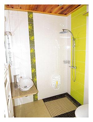 Seconde salle d'eau chambres d'hôtes
